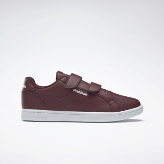 Reebok Royal Complete Clean Shoes Lux Maroon / White DV9552