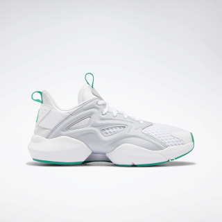 Sole Fury Adapt Shoes White / Cold Grey 2 / Emerald DV8452