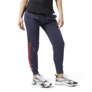 Pantalón Training Essentials Linear Logo Heritage Navy FI2042
