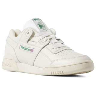 Workout Lo Plus Chalk / Paper Wht / Green DV3735