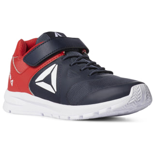 Reebok Rush Runner Shoes Collegiate Navy / Primal Red DV3621