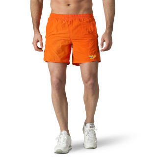 Retro Woven Shorts Orange/Bright Lava DN9701