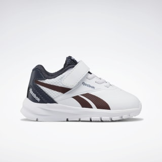 Reebok Rush Runner 2.0 Shoes White / Collegiate Navy / Burnt Sienna EH0646