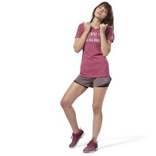 Mirror Tee Twisted Berry DH3738