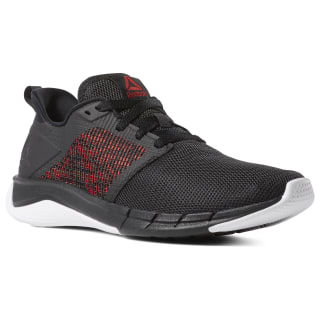 Кроссовки для бега Reebok Print Run 3.0 FW-BLACK/WHITE/PRIMAL RED CN7212
