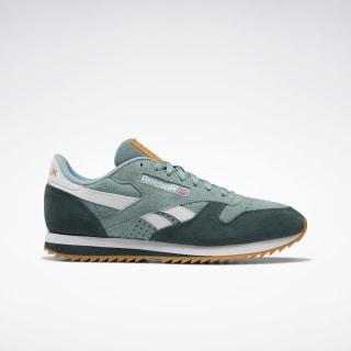 Кроссовки Reebok Classic Leather Ivy Green / Green Slate / Porcelain EF3465