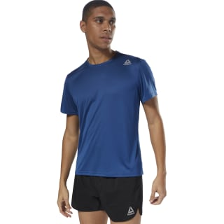 T-shirt Running Short Sleeve Bunker Blue D92327