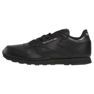 Classic Leather Shoes Black 50149