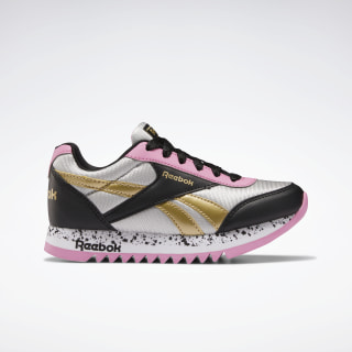 Reebok Royal CLJOG Platform 2.0 Shoes Black / Silver Metallic / Posh Pink EH0977