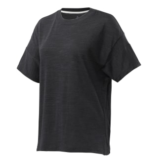 Remera Te Marble Detail Tee black DU4923