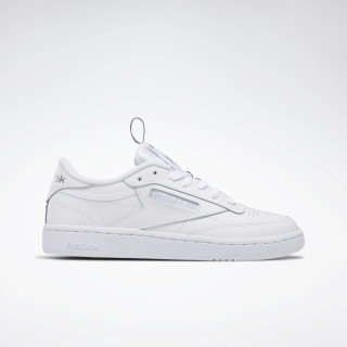 Club C 85 Women's Shoes White / Matte Silver / Black EG5258