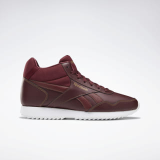 Reebok Royal Glide Mid Shoes Lux Maroon / Thatch / White DV6783
