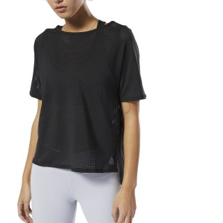 Perforated T-Shirt Black DU4117