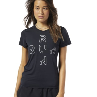 Remera One Series Running ACTIVCHILL Black EC2980