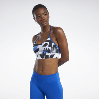 Meet You There Low-Impact Bra Humble Blue FK6784