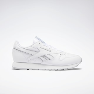 Classic Leather Shoes White / Cold Grey 2 / White DV8632