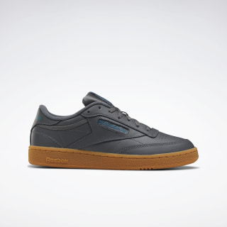 Club C 85 Shoes True Grey 7 / Heritage Teal / Reebok Rubber Gum-06 EF3247