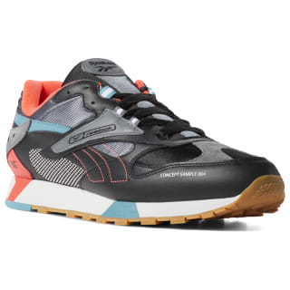 Classic Leather ATI 90s Black / Alloy / Neon Red / Mist DV6257