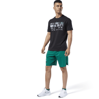 One Series Training Epic Shorts Clover Green EC0962