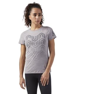 Camiseta para Running ACTIVCHILL POWDER GREY S18-R CW0470