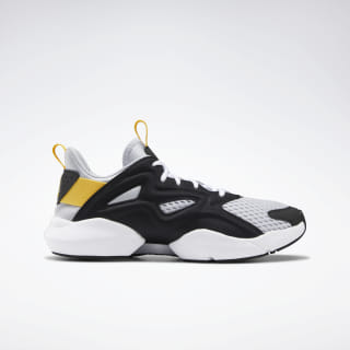 Sole Fury Adapt Shoes Cold Grey 2 / Black / Toxic Yellow DV8923
