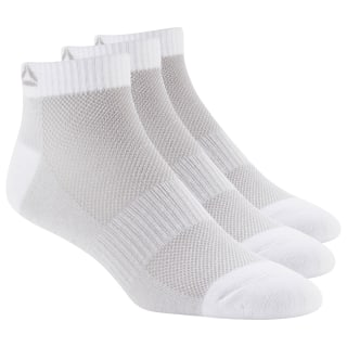 Active Foundation Ankle Socks Three Pack White/White/White DU2982