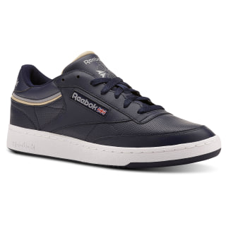 Club C 85 Sptlt-Collegiate Navy/Cool Shadow CN3762