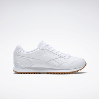 Reebok Royal Glide Ripple Clip Shoes White / White / White FW0151