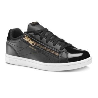 Reebok Royal Complete Clean Zip- Black / Gold DV3672