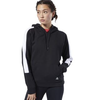 Sudadera Workout Ready Colorblocked Cover-Up Black EC2396
