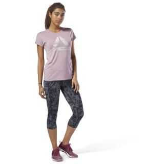 ACTIVCHILL Graphic T-shirt Infused Lilac D93866