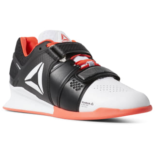 Reebok Legacy Lifter White / Black / Neon Red / Silver DV5259