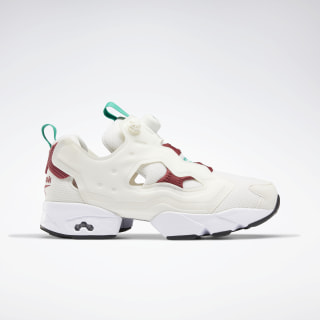 Кроссовки Reebok InstaPump Fury OG chalk/TRIATHLON RED/emerald FU9106