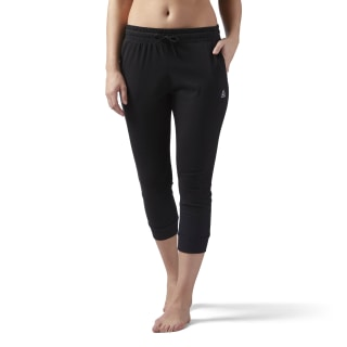 Elements Jersey Capri Black CD7580