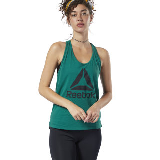 WOR Supremium Logo Tank Top Clover Green DY8101