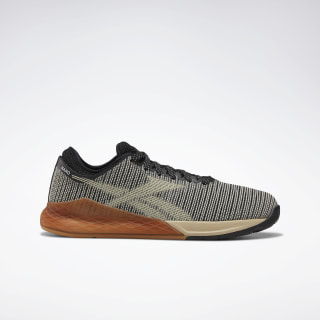 Reebok Nano 9 Women's Training Shoes Black / Light Sand / Reebok Rubber Gum-03 DV9121