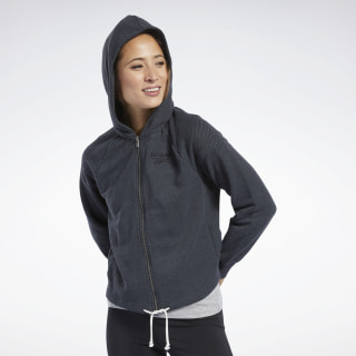 Sweat à capuche avec logo Training Essentials Black FJ2732