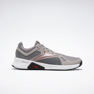 Advanced Trainer Shoes Powder Grey / White / Radiant Red FV4678