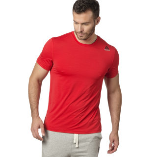 T-shirt Workout Ready ACTIVCHILL Tech Primal Red BS1403