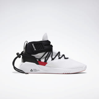 Freestyle Motion Shoes White / Black / Rebel Red DV9185