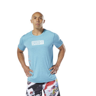 Remera Rc Move Tee mineral mist mel DU5116