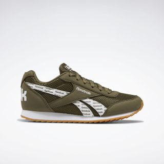 Reebok Royal Classic Jogger 2.0 Shoes Army Green / White / Gum EF3432