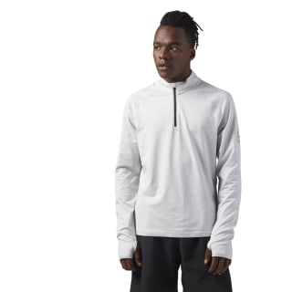 Reflective Speedwick Quarter Zip Skull Grey CF8776