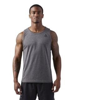 LES MILLS Dual Blend Tanktop Solid Grey CD6193