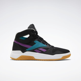 BB OS Mid Men's Basketball Shoes Black / Seaport Teal / Aubergine FV4474