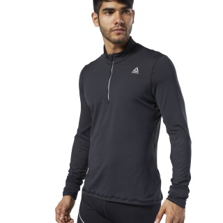 Jersey One Series Running Thermowarm Black DY8320