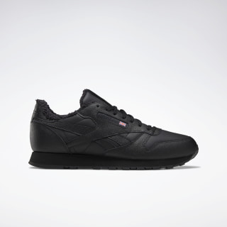 Кроссовки Reebok Classic Leather black/NONE/NONE EH2143