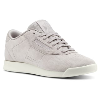 Tenis PRINCESS LTHR PERFS-WHISPER GREY/CHALK CN3342