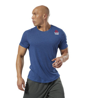 Reebok CrossFit Move Tee - Games Bunker Blue Mel-R DM3973