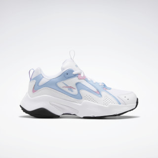 Reebok Royal Turbo Impulse 2.0 Shoes White / Fluid Blue / Jasmine Pink FV2791